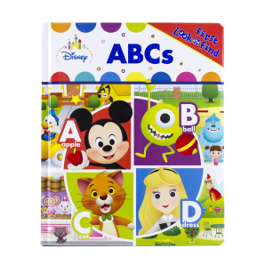 My First Look and Find Book: Disney Baby - ABCs