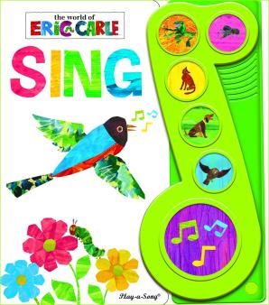Eric Carle: Little Music Note 6B Book - Sing