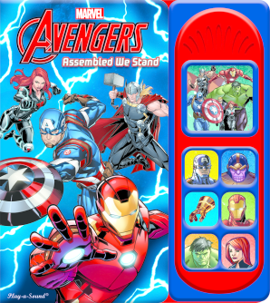 Little Sound Book: Avengers - Assembled We Stand