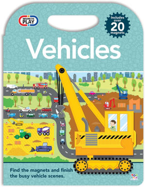Magnetic Play: Vehicles