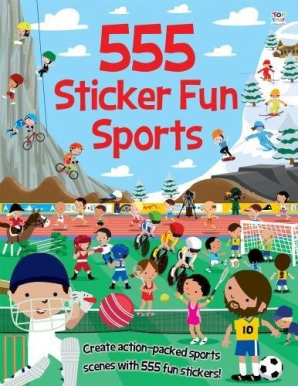 555 Sticker Fun: Sports