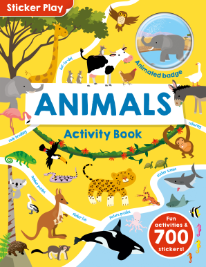 Sticker Play: Animals Activity Book