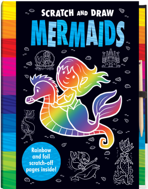 Scratch and Draw: Mermaids