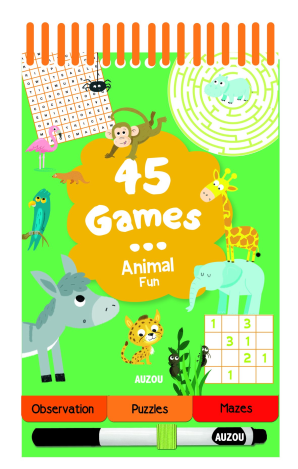 45 Games: Animal Fun