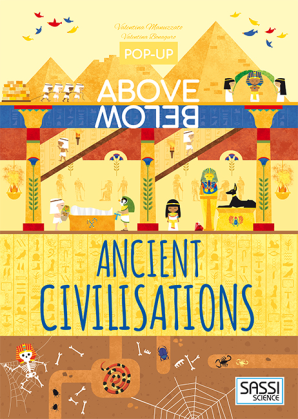 Pop-Up Above Below: Ancient Civilisations