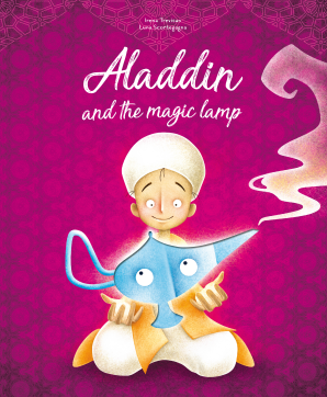 Die-Cut Reading: Aladdin and the Magic Lamp