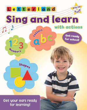 Sing and Learn (Book and CD)