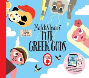 Match and Learn The Greek Gods