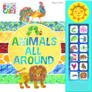 Custom Frame Sound Book: Eric Carle - Animals All Around