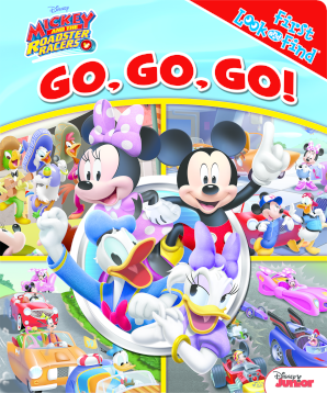 My First Look & Find Book: Mickey Mouse - Roadster Races
