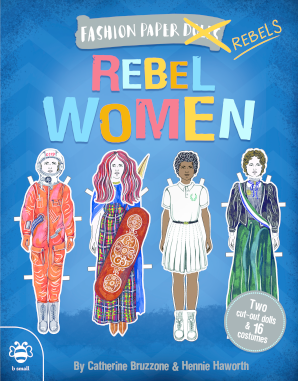 Fashion Paper Dolls: Rebel Women