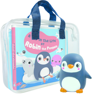A Day in the Life of Robin the Penguin