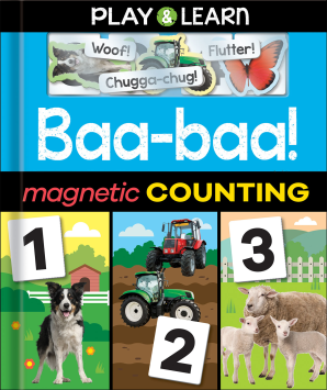 Play & Learn: Baa-baa! Magnetic Counting